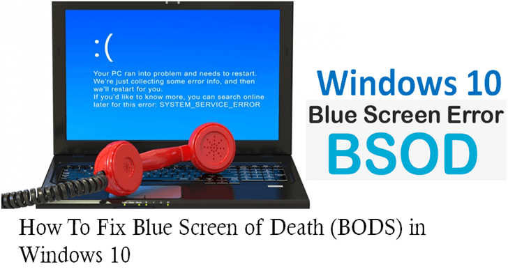 2016-08-27Windows 10 Blue Screen Error.png